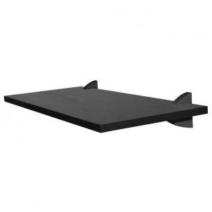 Prateleira Vangard Concept Preta 20X60 Cm - Prat K