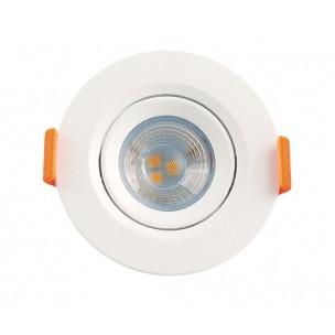Spot LED Redondo 3W Branco...