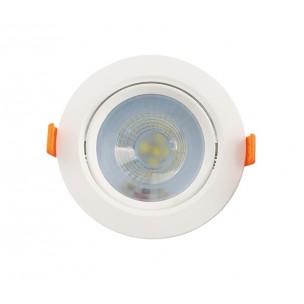 Spot LED Redondo 5W Branco...