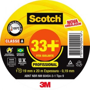 Fita Isolante Scotch 33+...