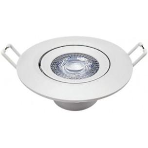 Spot LED Embutir Redondo 3w...