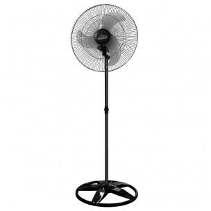 Ventilador Oscilante de Coluna 60CM Preto Grade Aço Bivolt - Venti Delta