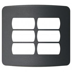 Placa 4x4 para 6 Postos com...