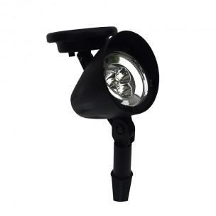 Luminária Solar de LED Spot em ABS - Ecoforce