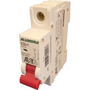 Disjuntor Termomagnético ALBR3 Unipolar Din 10a - Alumbra