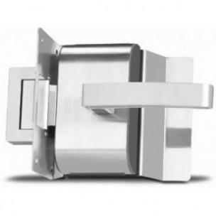 Fechadura Elétrica PV90 1F-L Inox com Puxador - HDL