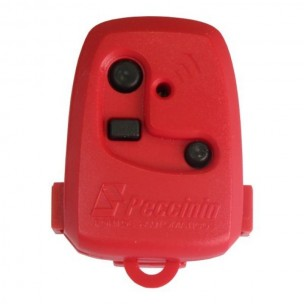 Controle Remoto para Portão Peccinin Vermelho 433 Mhz