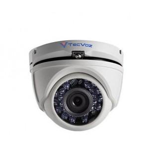 Câmera Dome HD-TVI 20 Metros 2.8mm 1080P TecVoz