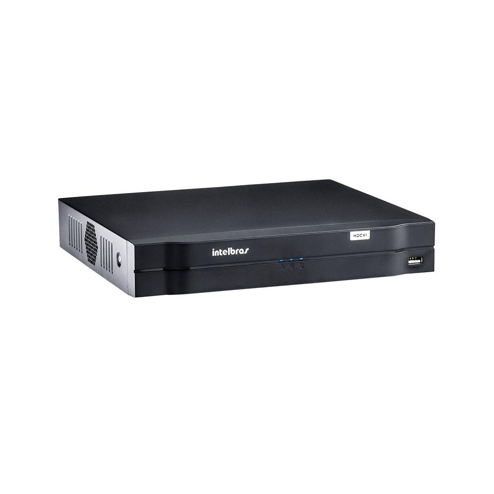 Dvr digital de vídeo Tríbrido HDCVI 1008 8 Canais Intelbras