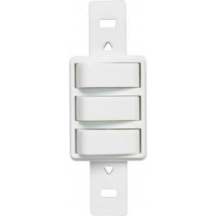 3 Interruptores Simples Claris