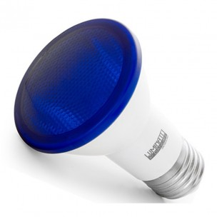 Lampada Led PAR20 IP65 6W Azul BIV Luminatti