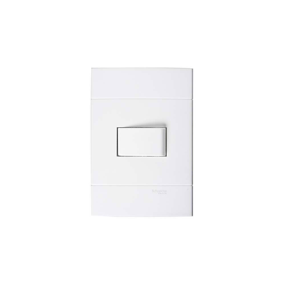 Interruptor Simples 44011 Decor/Lunare Branco - Schneider