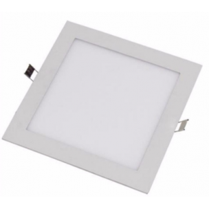 Plafon Led Embutido Quadrado 12w 3000k Evoled