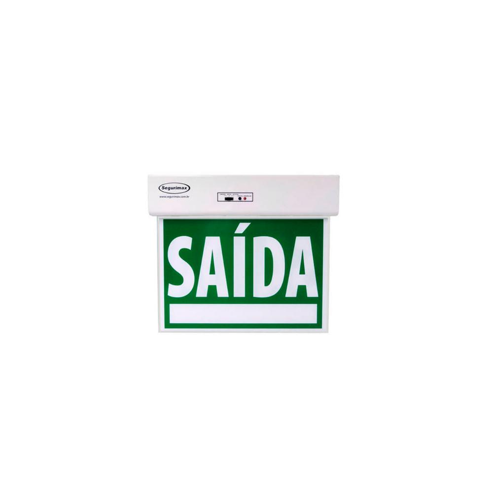 Sinalizacao Acrilica Luminosa Saida Segurimax