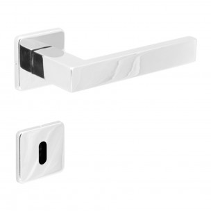 Fechadura Interna Quadra INOX Polido 55mm - Arouca