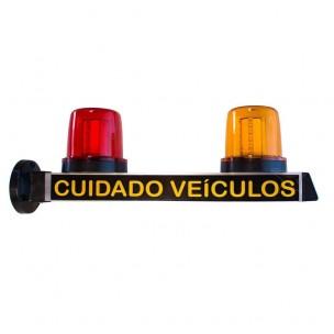 Sinalizador Visual de Garagem LED - Iluctron