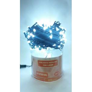 Cordão Luminoso com 100 LEDs Estáticos 127V Branco Frio - Life Led