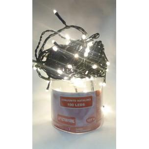 Cordão Luminoso com 100 LEDs Estáticos 127V Branco Quente - Life Led