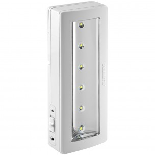 Luminária de Emergência 6 LEDs 2W - Alumbra