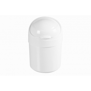 Cesto Multiuso Branco Com Puxador Cromado - Astra