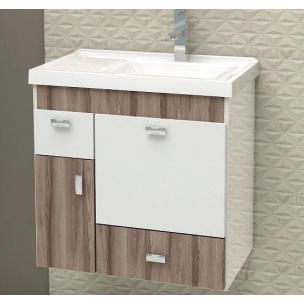 Gabinete de Banheiro Orquídea 60cm - Cozimax