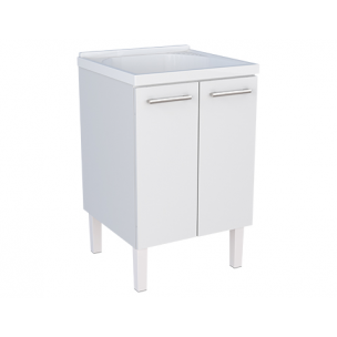 Gabinete Flat de Aço com Tanque - Cozimax