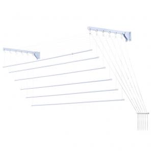 Varal Prático para Teto/Parede em Aço 1,40m - Secalux