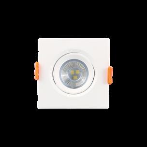 Spot LED Quadrado 3W BIV 3000K Luminatti