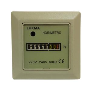 Horímetro LK-11 220V Bege - Lukma