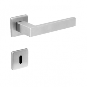 Fechadura Interna Quadra Inox Escovado 55mm - Arouca