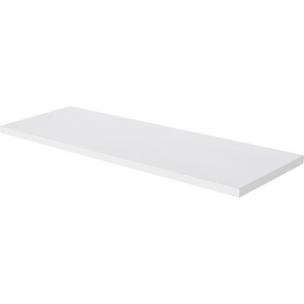 Prateleira em MDP com Suporte 25x60cm Branca - Multi Visão