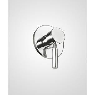Acabamento Monocomando Chuveiro Titanio Base Docol - Perflex