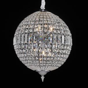 Pendente Bola de Cristal 45x57cm - Mais Luz