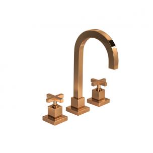 Misturador Duna Quadratta Red Gold de Mesa Lavatório - Deca