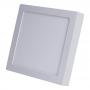 Plafon Led Quadrado 30x30 24w Painel Sobrepor Branco Frio - Avant