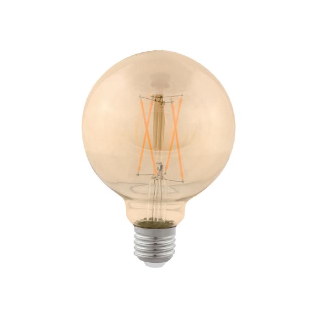 Lâmpada Balão 4W Vintage - Ag Lux