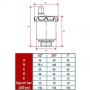 Válvula Ventosa 362 1/2 ITAP - WOG