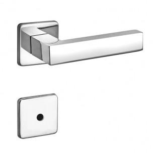 Fechadura para Banheiro Quadra 40mm ZC - Arouca