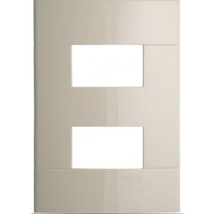 Placa Decor 4x2 para 2...