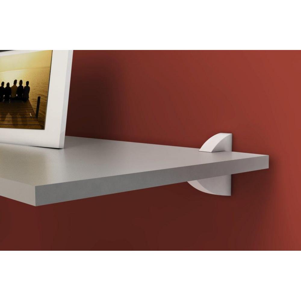 prateleira vangard concept branca 20x40 cm pratk. Black Bedroom Furniture Sets. Home Design Ideas